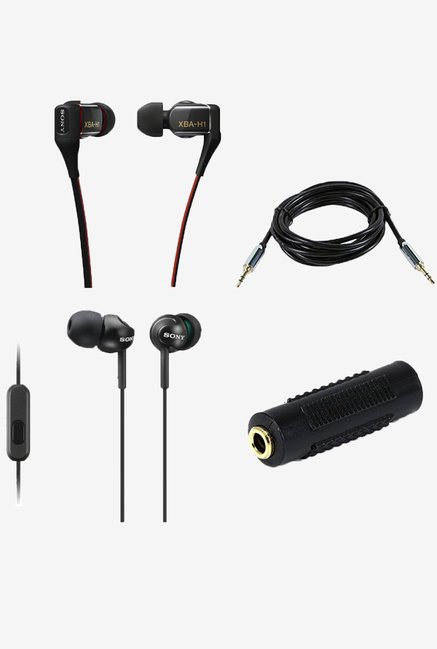 Sony XBAH1 Hybrid In the Ear Headphones