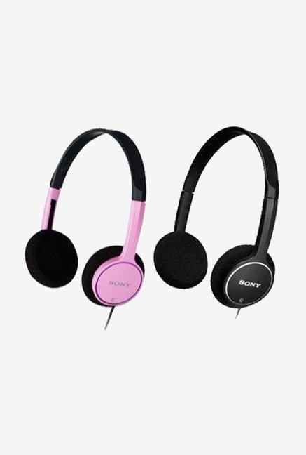 Sony Lightweight On Ear Stereo Headphones (Black)