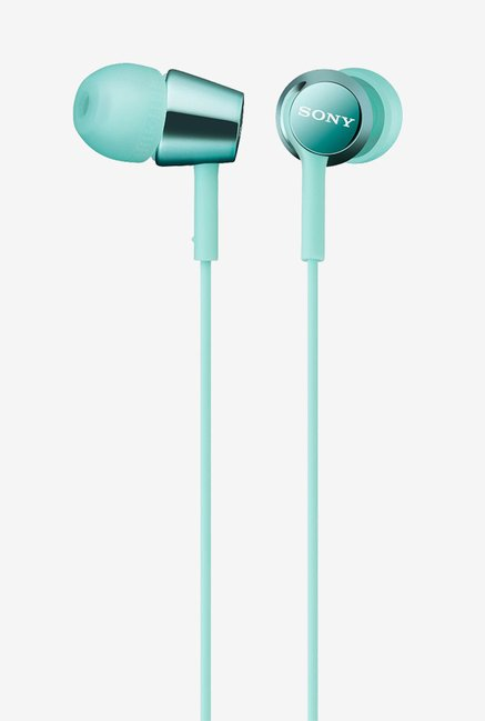 Sony MDR-EX150/L In The Ear Headphones (Mint Blue)