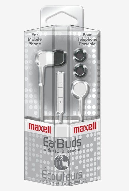 Maxcell 19303 In The Ear White