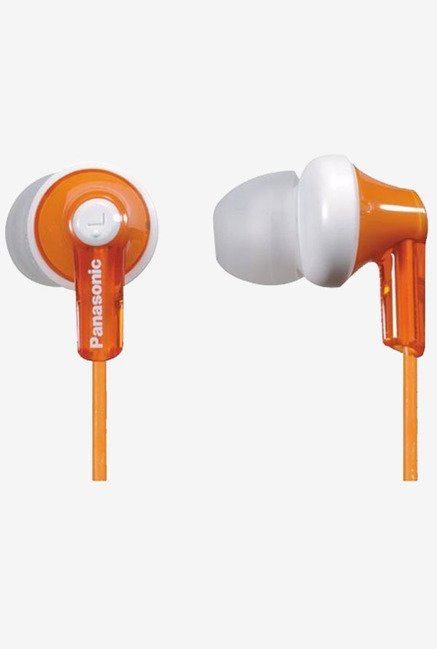 Panasonic RPHJE120D In The Ear Headphone (Orange)