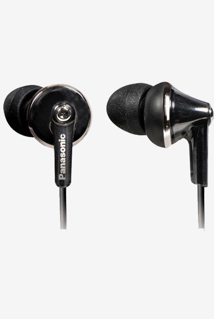 Panasonic  RP-TCM190E-K Extra Bass In The Ear Earphone (Black)