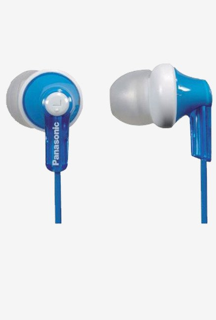 Panasonic RPHJE120A In The Ear Headphone (Blue)