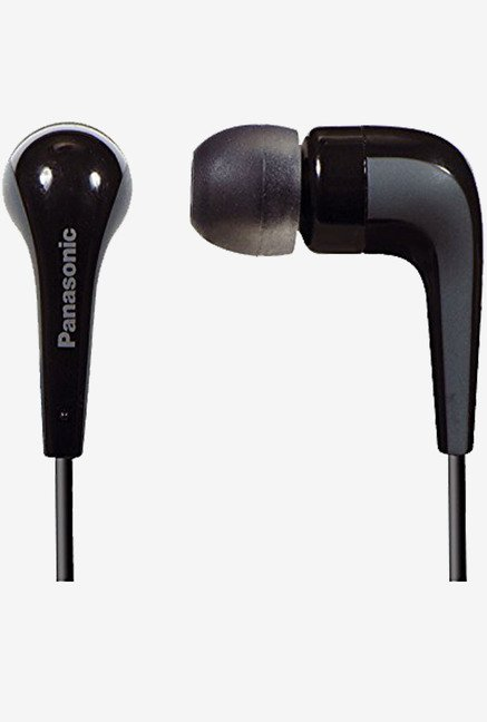 Panasonic RP-HJE140E-K In The Ear Headphone (Black)