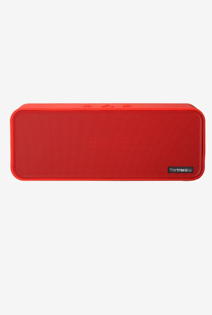 Portronics Sublime POR 139 Portable Bluetooth Speaker (Red)