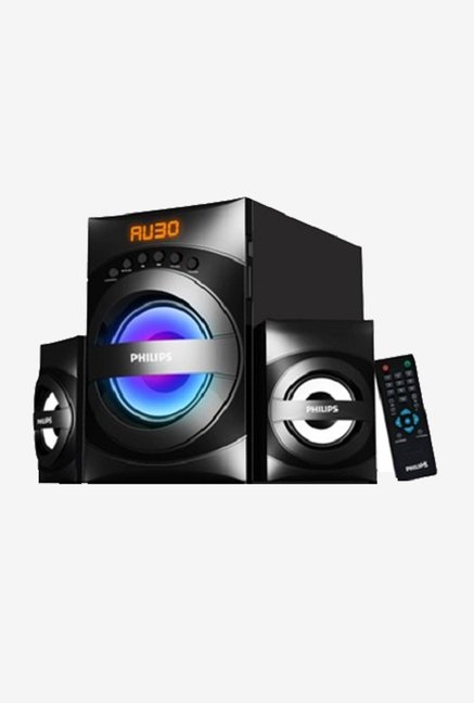 Philips MMS3535F/94 2.1 Channel Multimedia Speakers (Black)