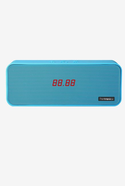Portronics Sublime 2 BT POR 138 Speaker FM and NFC (Blue)