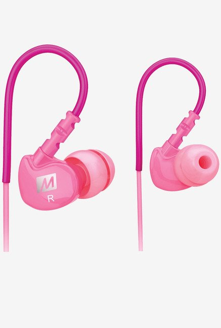 MEE Audio Sport-Fi M6 Noise Isolating In The Ear (Pink)