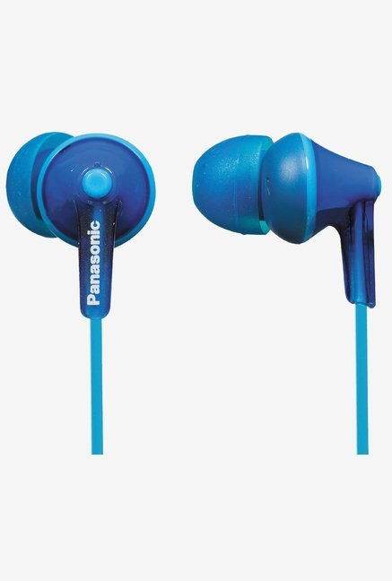 Panasonic RP-HJE125E-A In The Ear Ergonomic Fit ( Blue)