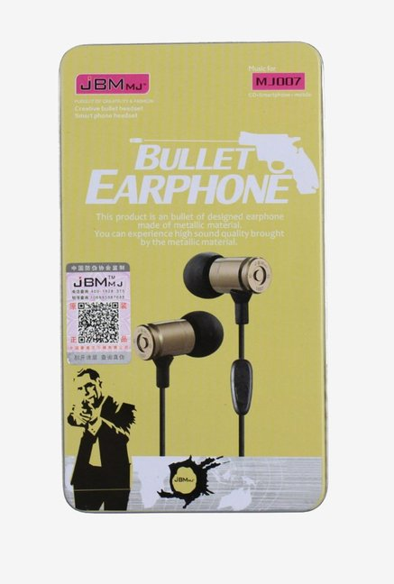 MoMoCity JBM MJ007 High Performance In The Ear  Metal Headset