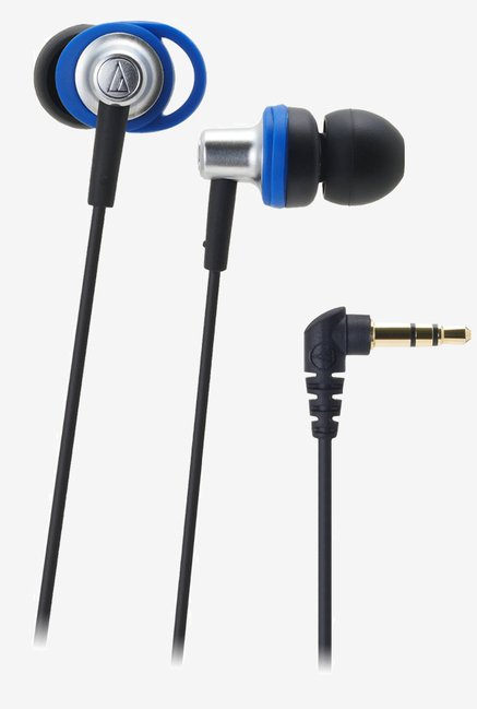 Audio Technica ATH-CK505M Loop Support Headphones (Blue)