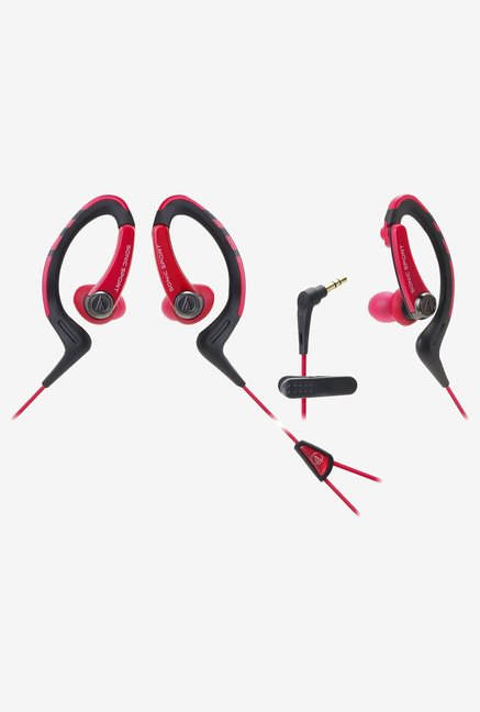 Audio Technica ATH-sports1 Sonic Waterproof (Red/Black)