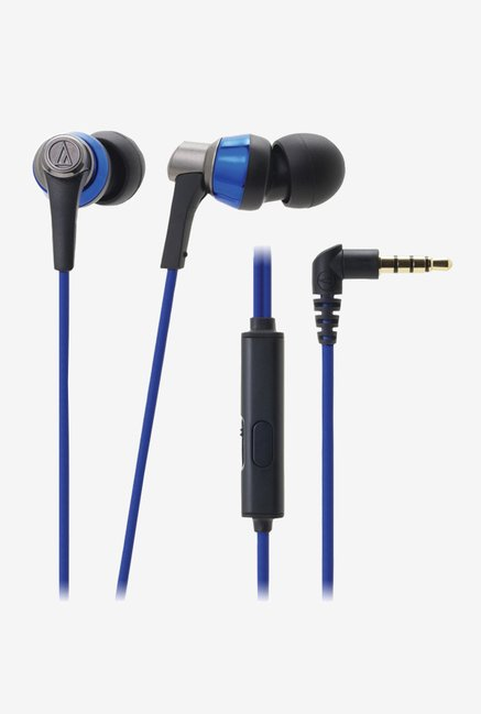 Audio Technica ATH-CKR3iS SonicPro Headphones (Blue)