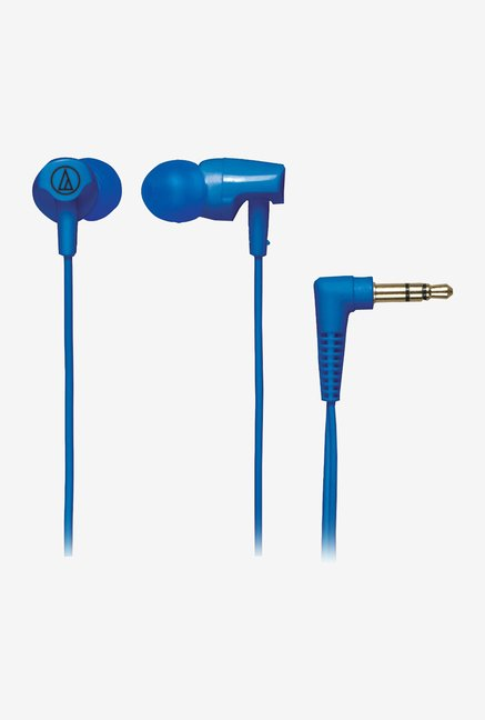 Audio Technica ATH-CLR100 In The Ear Headphones (Blue)