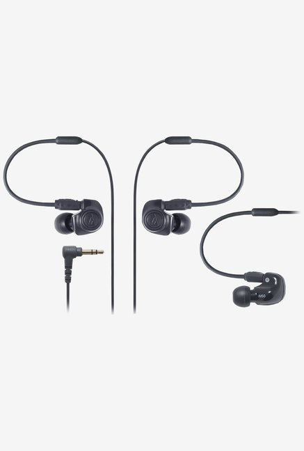 Audio Technica ATH-IM50 In The Ear Headphones (Black)