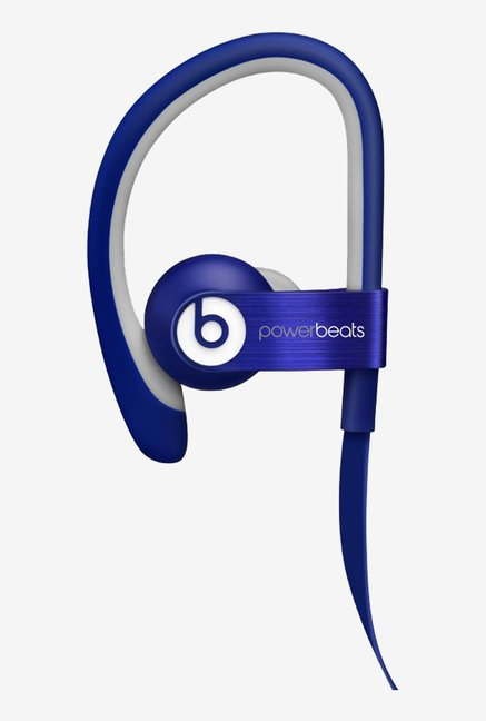 Beats Powerbeats 2 WIRED In the Ear Headphone (Blue)