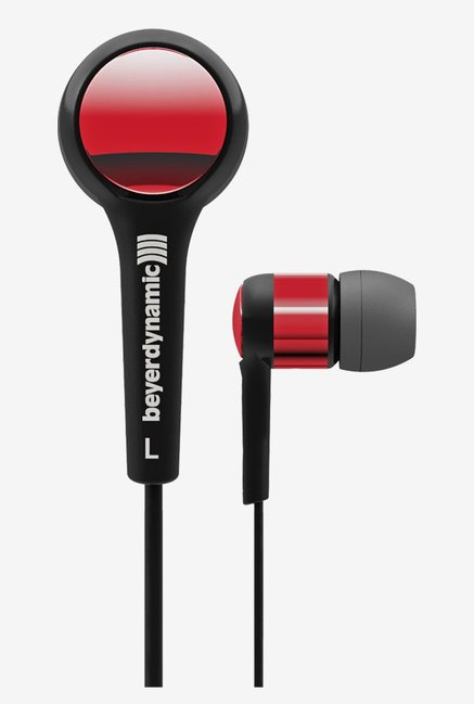 Beyerdynamic DTX 102 iE In the Ear Headphones (Red/Black)