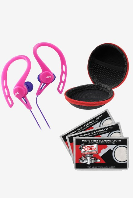 JVC HA-ECX20 Inner Ear Headphones (Pink)
