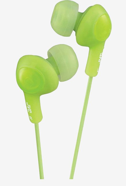 JVC Stereo In The Ear Lightweight Headphones (Green)