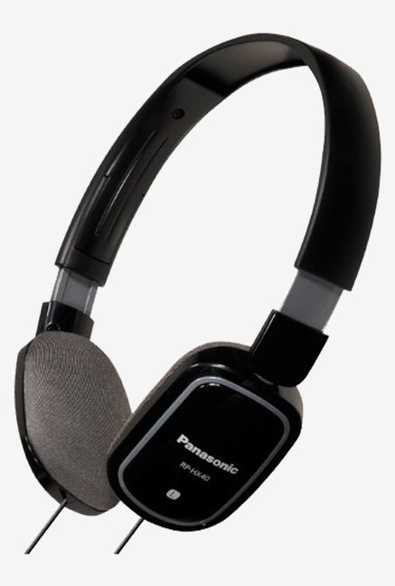 Panasonic RP-HX40E-K Lightweight Headphone (Black)