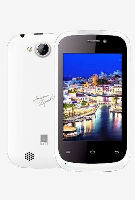 iBall Andi 3.5KKE Winner (White)