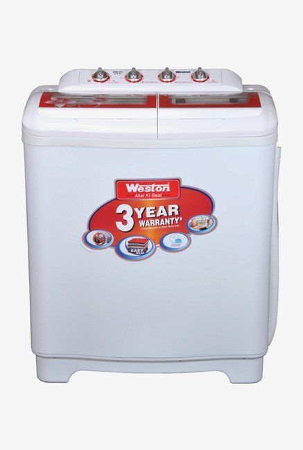 Weston WMI 803 8 kg Semi Automatic Washing machine (White)