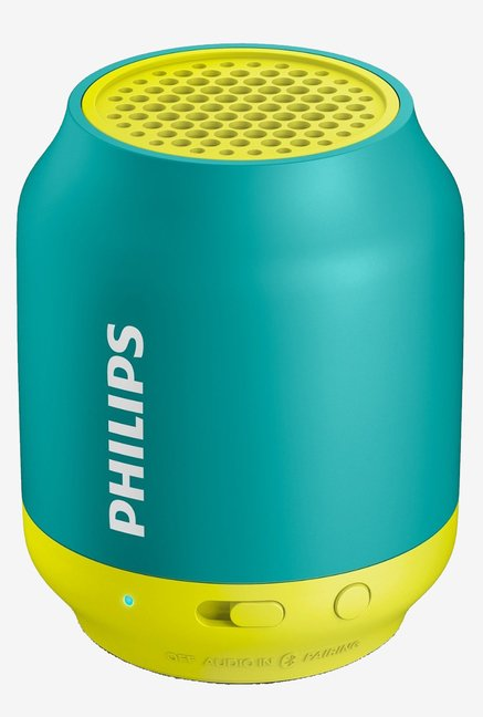 Philips BT50A/00 Protable Bluetooth Speakers (Blue)