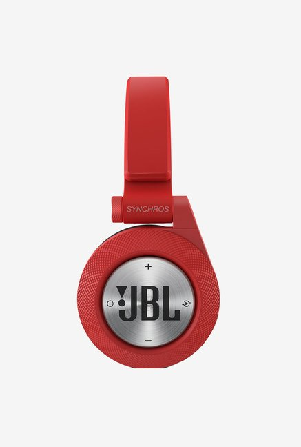 JBL E40BT Synchros Wireless On the Ear Headphones (Red)