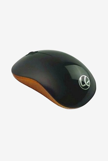 Lapcare L 90 1000 DPI Wired Optical Mouse (Orange)