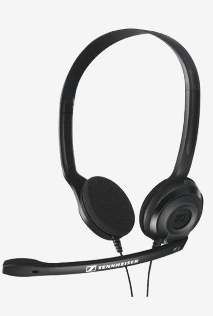 Sennheiser PC 3 Chat On the Ear Headphone (Black)