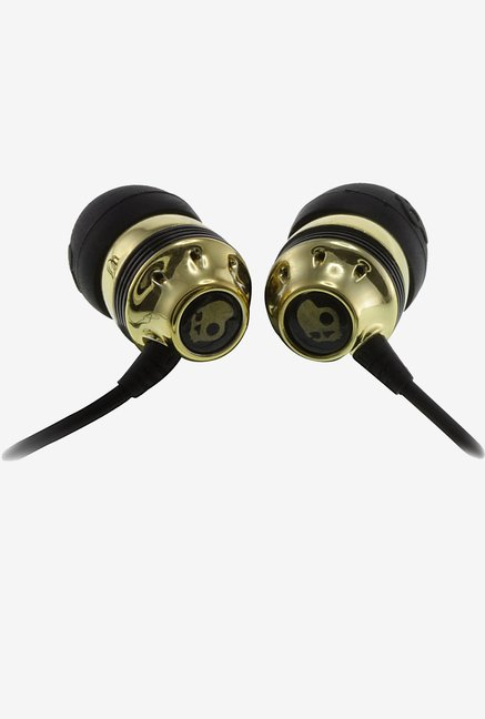 Skullcandy S2INDZ-022 In the Ear Headphone (Gold)