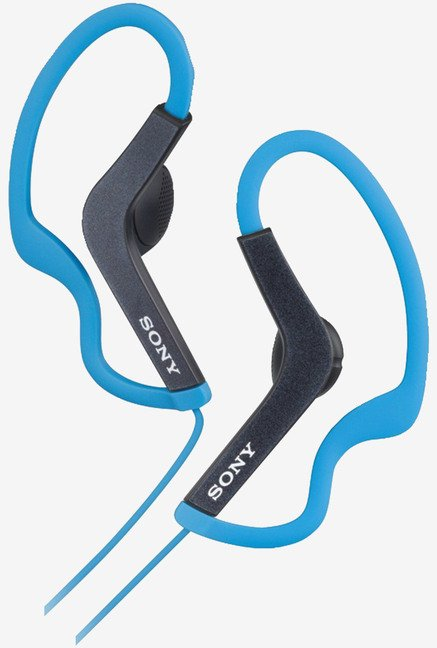 Sony MDR-AS200/BLU Active Sports Headphones (Blue)