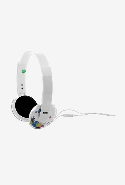 Lapcare LMH 207 Wired Multimedia Headset (White)