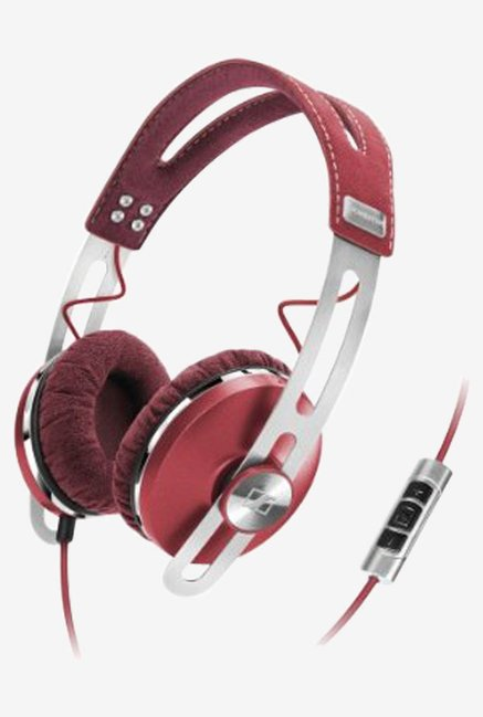 Sennheiser On the Ear Headphone (Red)