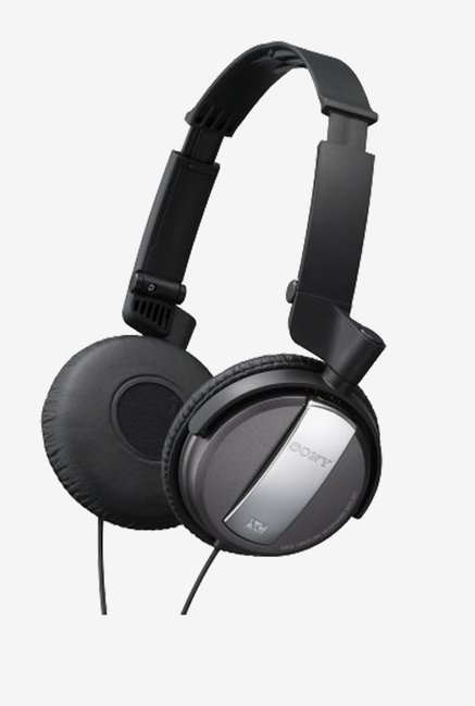 Sony MDR-NC7/BLK Noise Canceling On-Ear Headphones (Black)