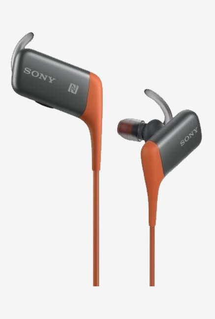 Sony MDR-AS600BT/D Bluetooth Wireless Headphone (Orange)