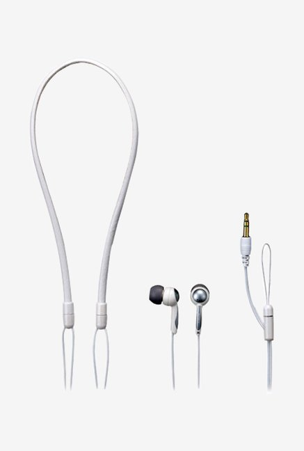 Sony MDR-NX1 In Style Stereo Dynamic Earphones (White)
