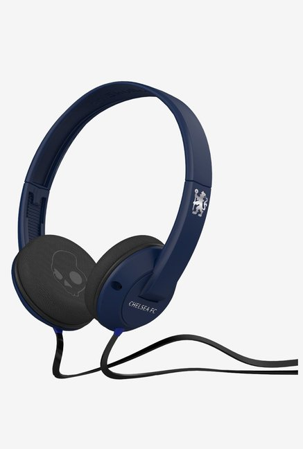 Skullcandy SCSGURFY-145 Uprock 2.0 Headphones  (Navy/Chrome)
