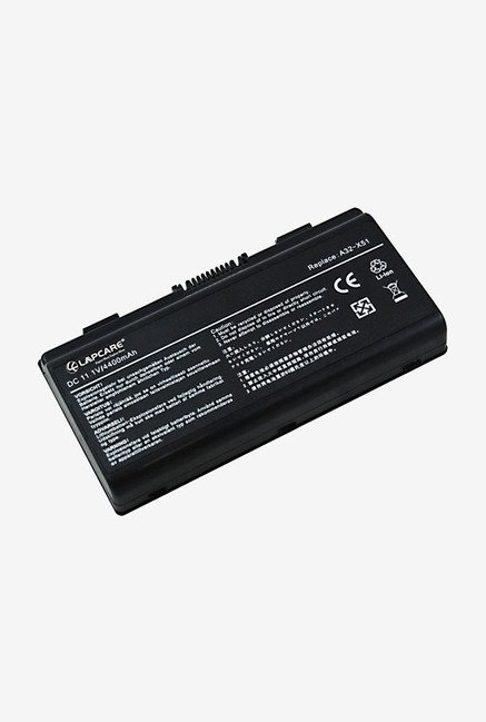 Lapcare A32-T12 4400mAh 6 Cell Li-ion Laptop Battery (Black)