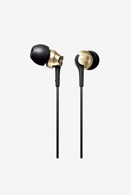 Sony In the Ear Headphones MDR-EX60LP N (Gold)