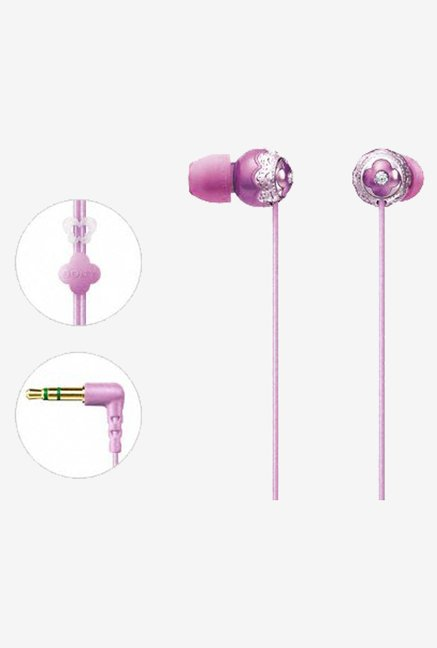 Sony Jiennie BOUQUET In the Ear MDR-EX42LP PJ (Rose Pink)