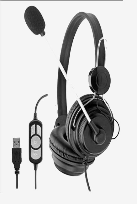 X-PRO Harmony USB Headphone (Black)