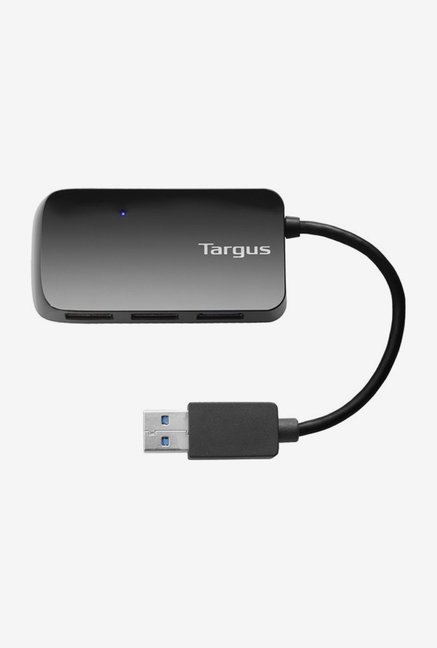 Targus ACH124AP-50 3.0 USB 4 Port Hub (Black)