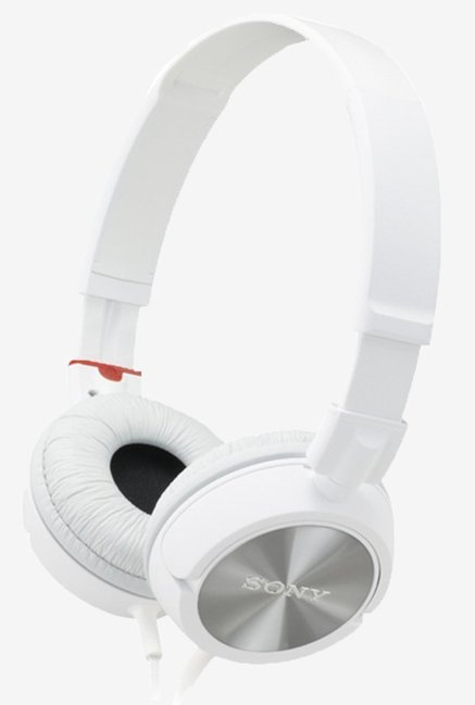 Sony MDR-ZX300 ZX Series stereo headphones (White)