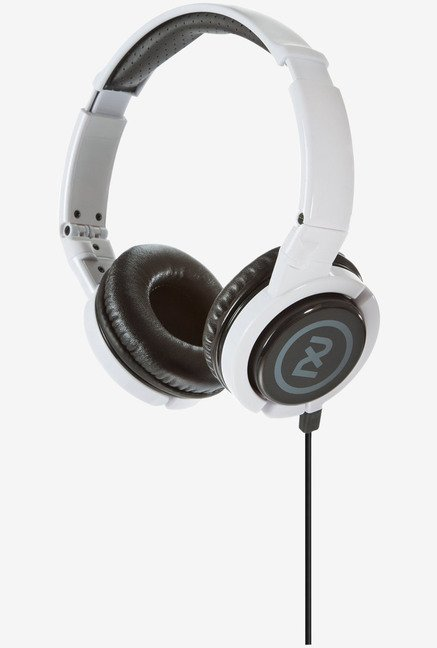 Logitech UE 3600 Headphones on-cord Mic and controls (White)