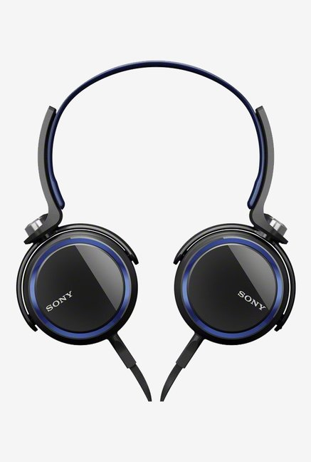 Sony MDRXB400/BLU Extra Bass Over The Headphone Blue