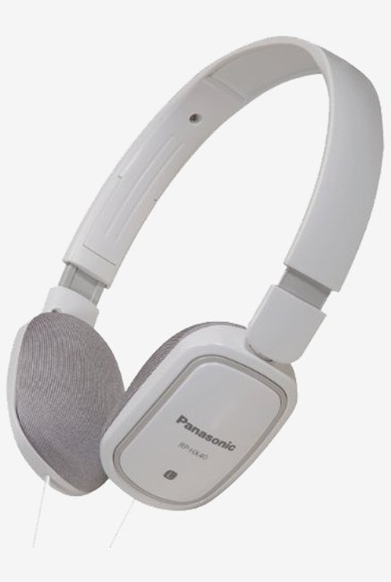 Panasonic RP-HX40E-W Ultra Light Headphone (White)