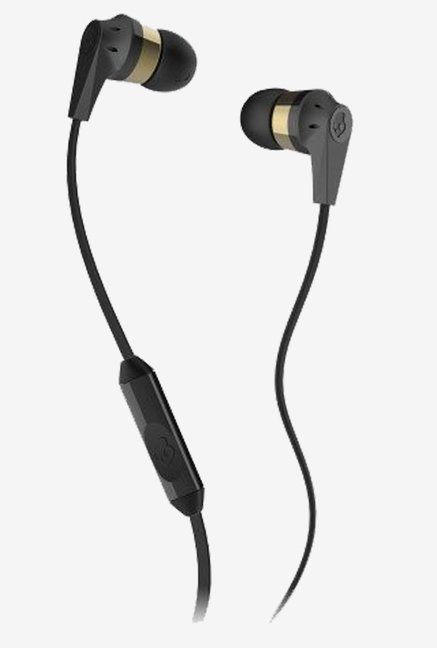 Skullcandy S2IKDY-107  In the Ear Headphone (Gray/Black)