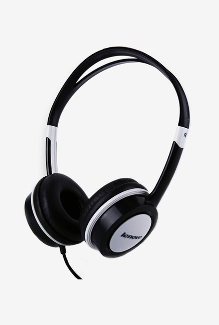 Lenovo P410 Wired Over the Ear Headset (Black)