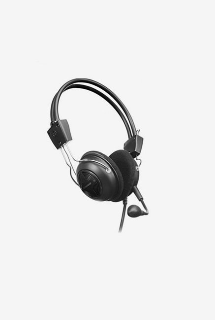 Lenovo P721 Wired Over the Ear Headset (Black)